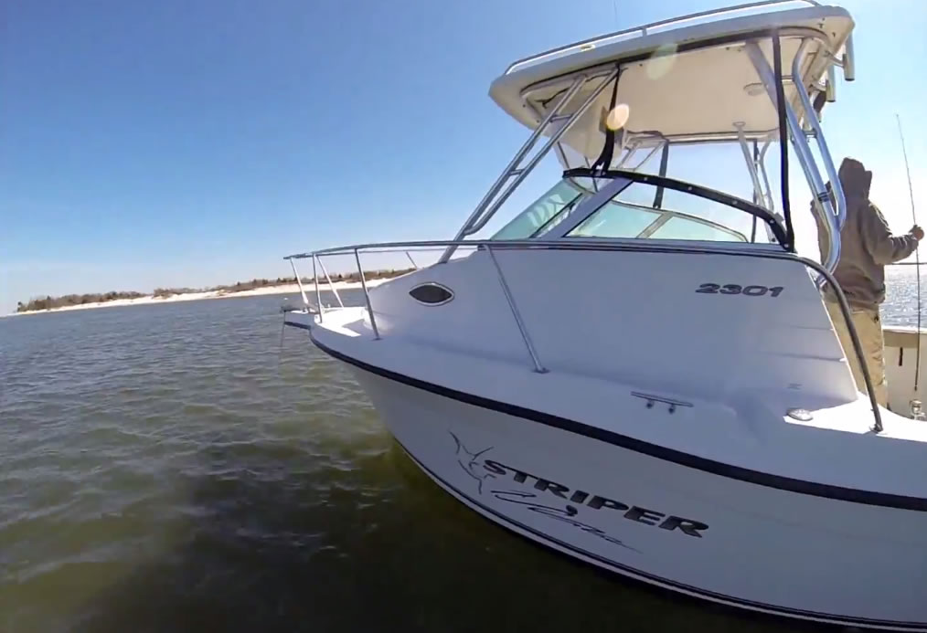 Barnegat Bay April 21st 2013 – Another Good Day