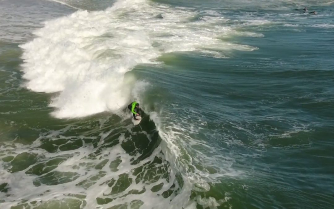 Surfing Aerial Video November 2016
